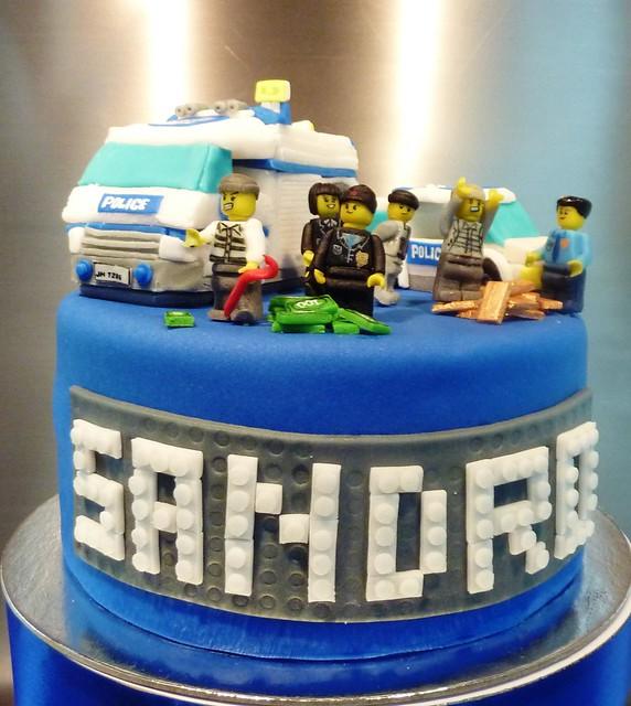 Lego Police Cake Ideas
