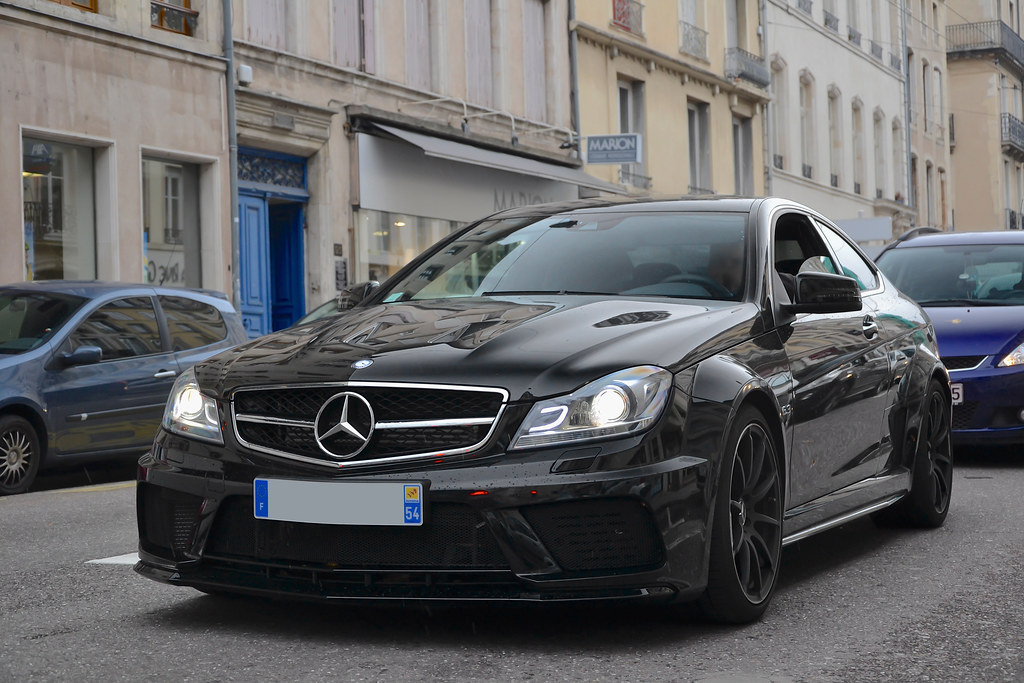 Mercedes Benz C63 Amg Coup 233 Black Series Www Grand Est