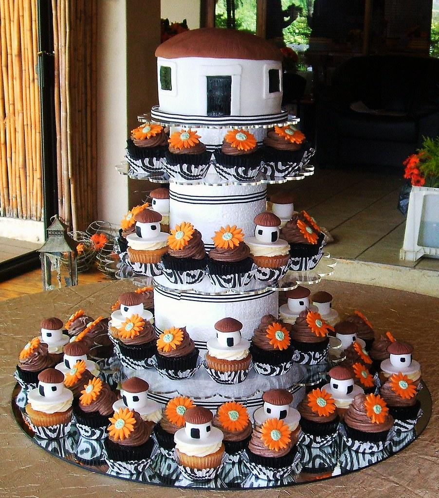 African Wedding Cakes Photos