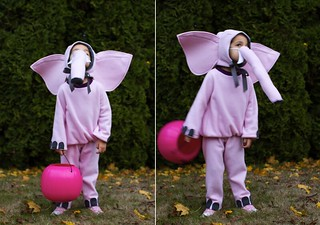 pink elephant costume | by skirt_as_top