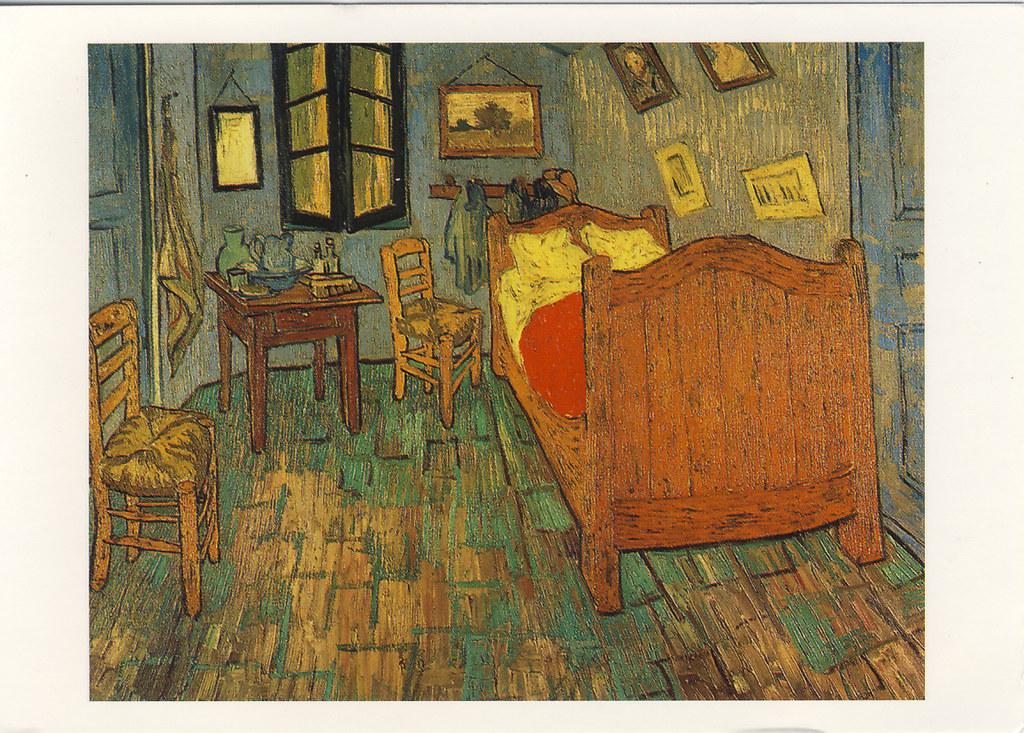Slaapkamer by Vincent van Gogh | received | postcardlady1 | Flickr