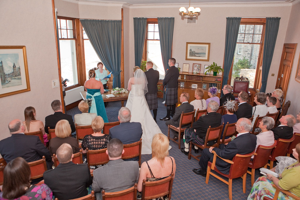 Wedding Taken Place At South Queensferry Registrars Offic