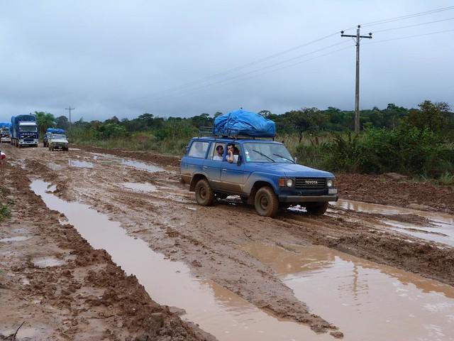 Estado de la carretera de Rurrenabaque a Santa Rosa (Bolivia)