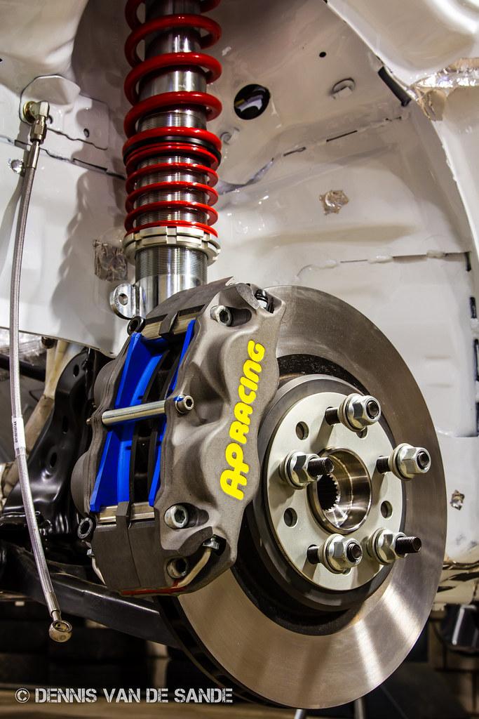 ford fiesta r2 front brake suspension set up one of the flickr. Black Bedroom Furniture Sets. Home Design Ideas