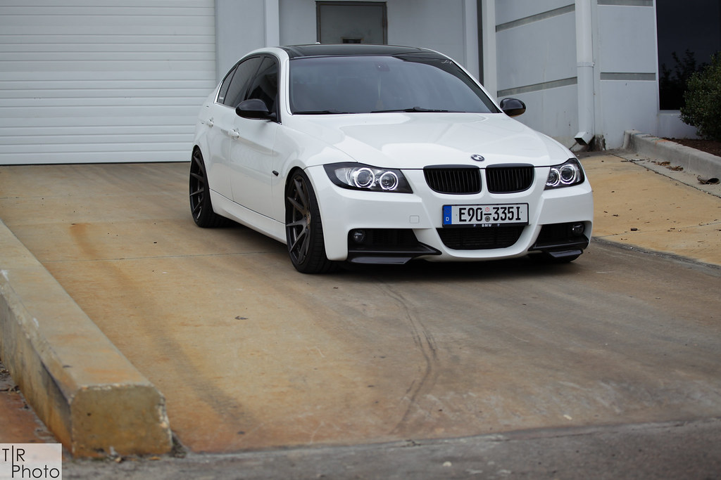 Bmw E90 335i Bc Forged M Tech Bc Forged Wheels Photoshoot Flickr