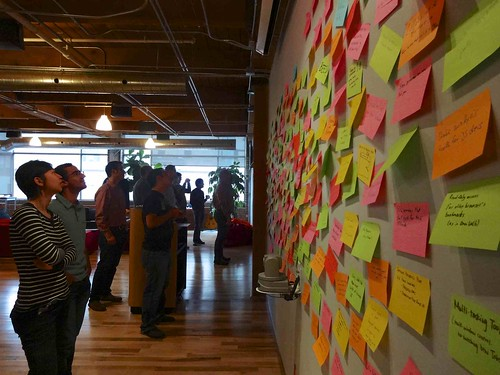 Post-it Concept Wall | by DoNotLick