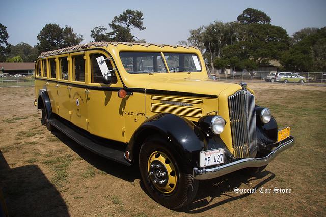 1937 White Model 706 Yellowstone Park Bus