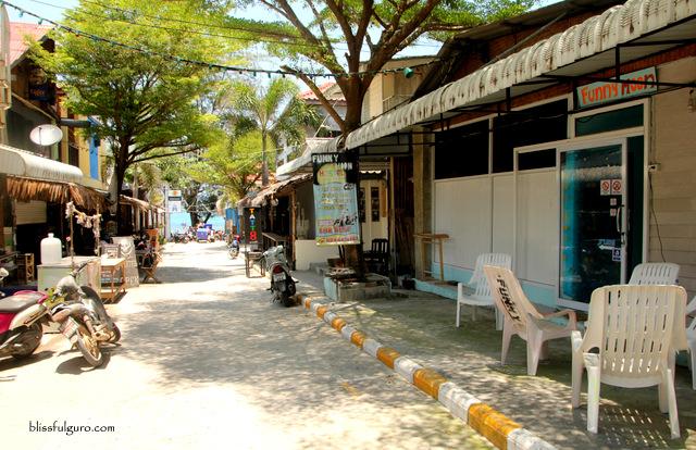 Haad Rin Beach Koh Pangan Thailand