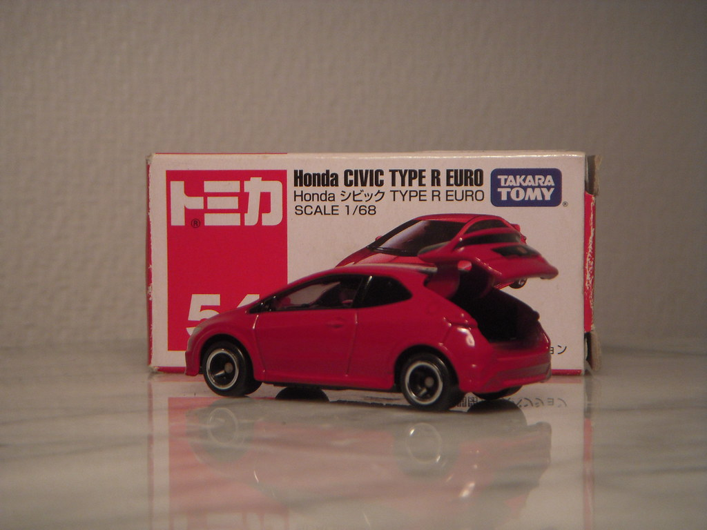 Honda Civic Type R Euro 1 68 Diecast By Tomica I Really Li Flickr