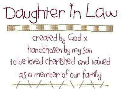 Mothers Day Quotes From Daughter In Law To my beautiful...