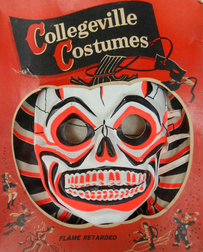 Vintage Collegeville Costumes Skeletone Halloween Costume MIB | by socal72girl