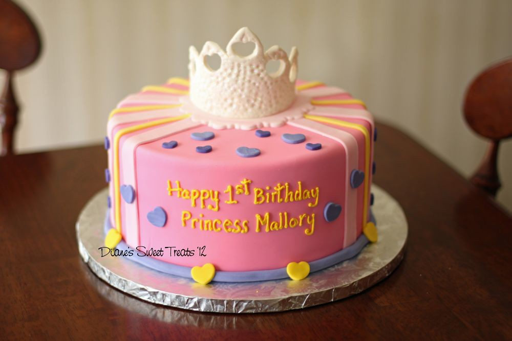 Happy Birthday Mallory Cake
