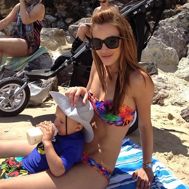 Rebecca twigley bikini