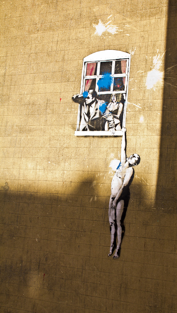 Banksy Love Cheat | A famous Banksy - for those not familiar… | Flickr