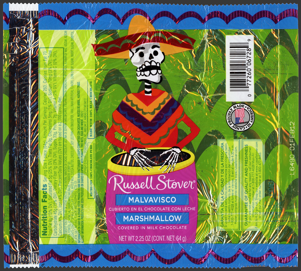 russell stover - day of the dead - halloween - marshmallow… | flickr