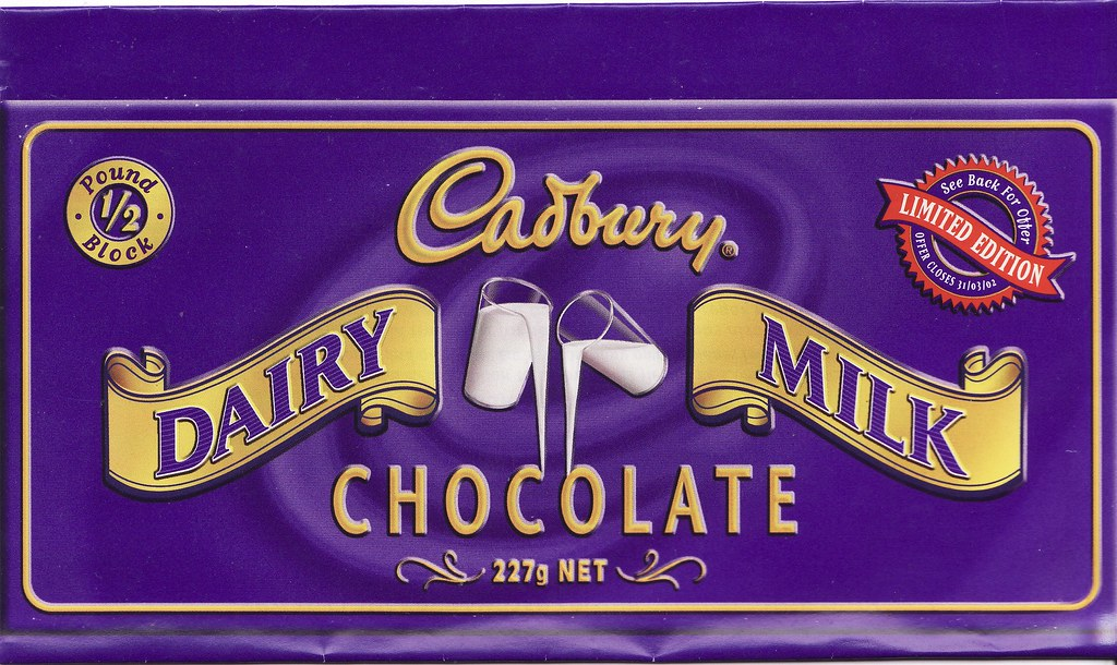 2001 Cadbury Dairy Milk Retro Chocolate Wrapper - New Zeal… | Flickr