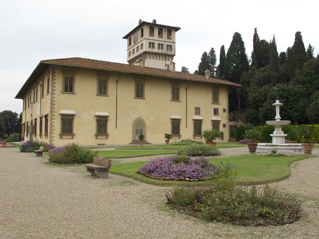 Gardens of the villa la petraia firenze andreas for Villa la petraia