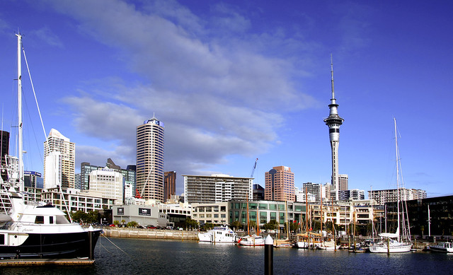 City skyline with Skytower (2)