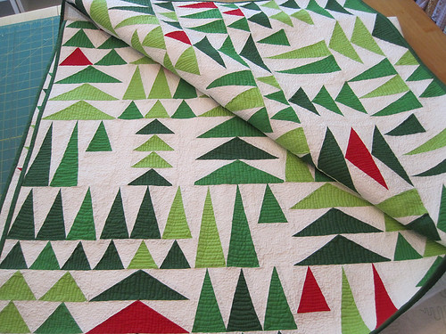Geese in the Forest Quilt