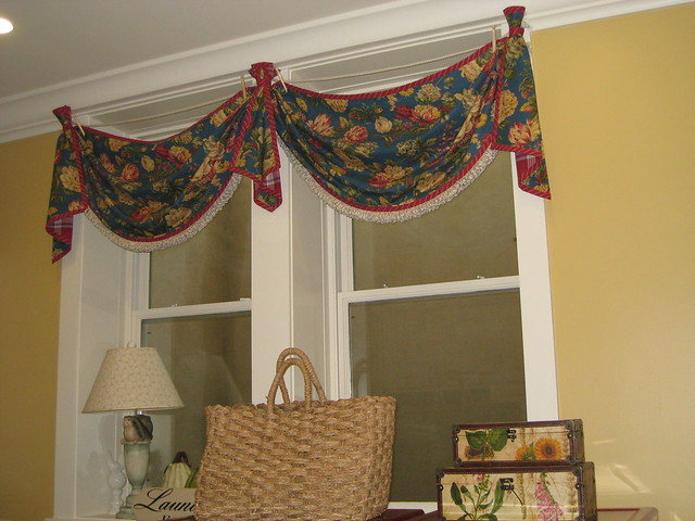 Swag Valance With Cascades Flickr Photo Sharing