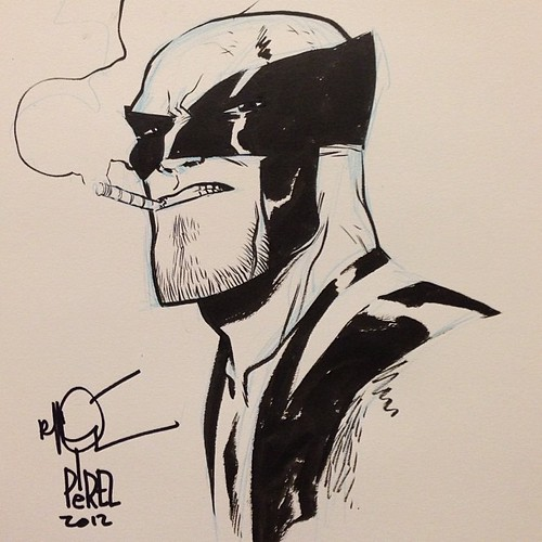 Wolverine's the order if the day at #halcon2012 | by theRAIDstudio
