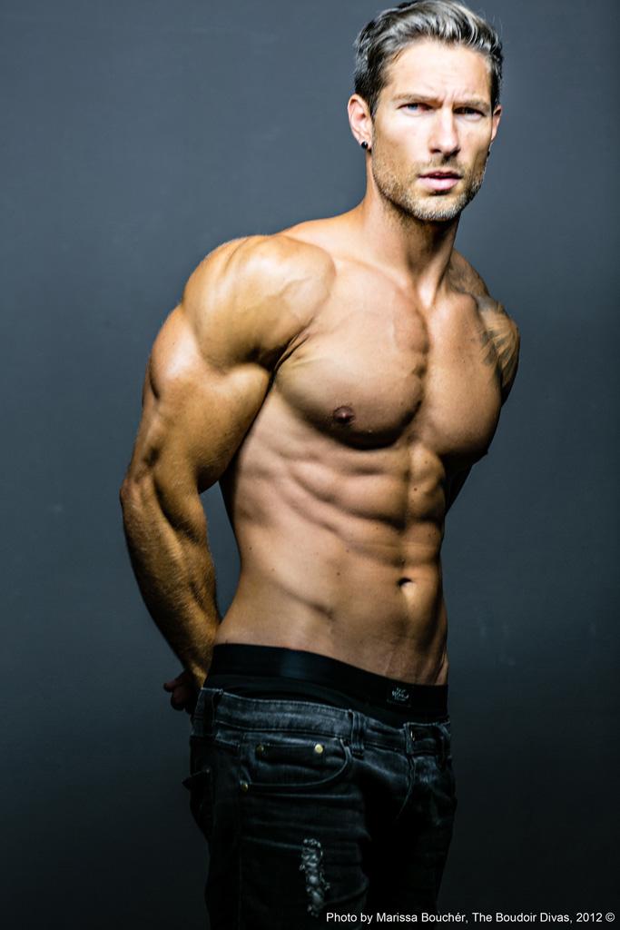 how to get a model body men