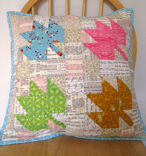 Modern Maples Pillow : Modern Maples Pillow Top Modern Maples Pillow Top Swap Flickr
