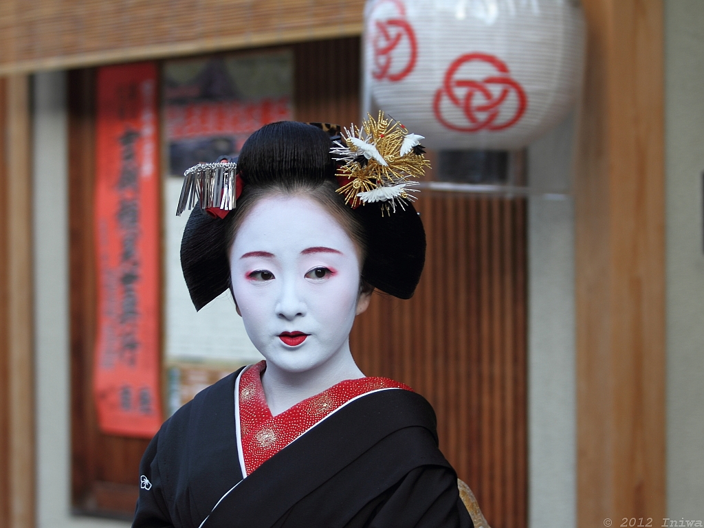 hair styles 2012 maiko fukuai ふく愛 kyoto japan the maiko apprentice 5312