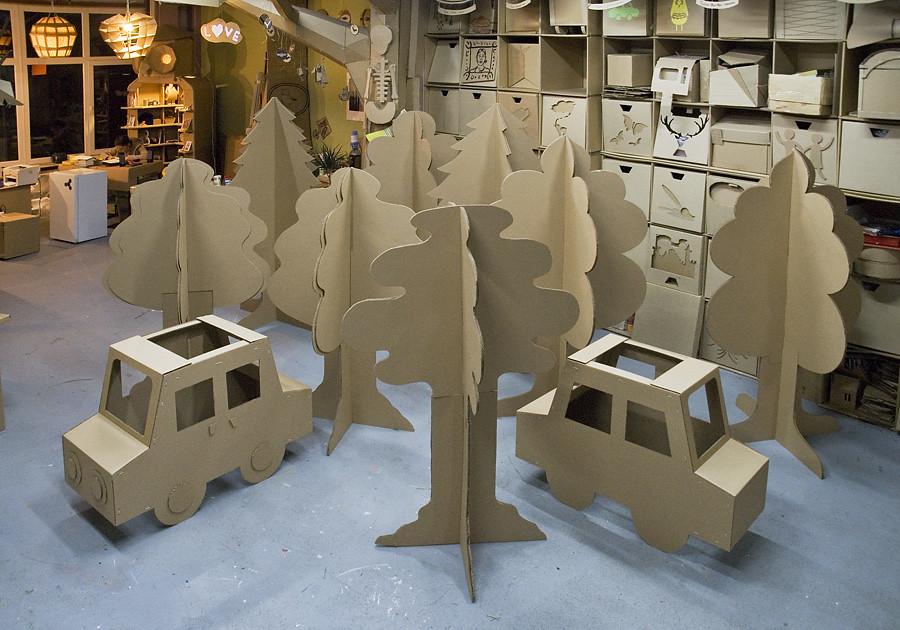 Дерево своими руками из картона или бумаги