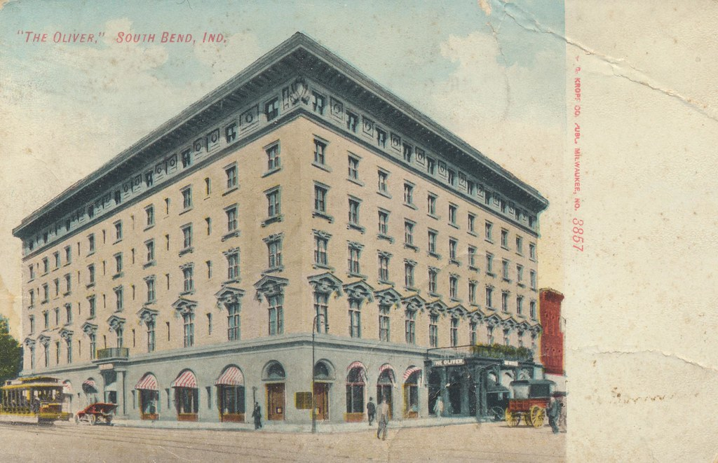 Oliver Hotel - South Bend, Indiana