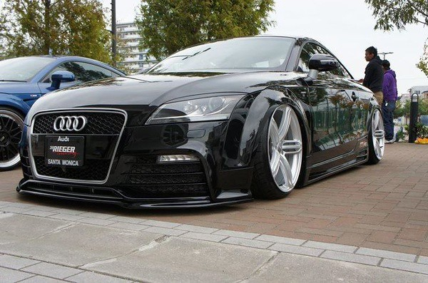 Slammed Audi Tuner Car Extreme Modified Extreme