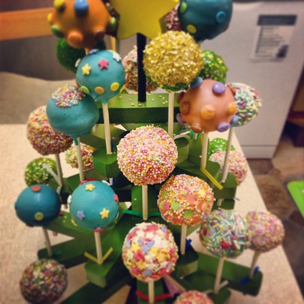 Cake Pop Tree Display