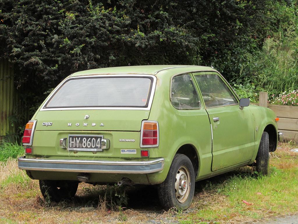 1976 Honda Civic Hondamatic