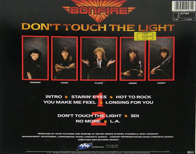 BONFIRE DONT TOUCH THE LIGHT (CACUMEN)