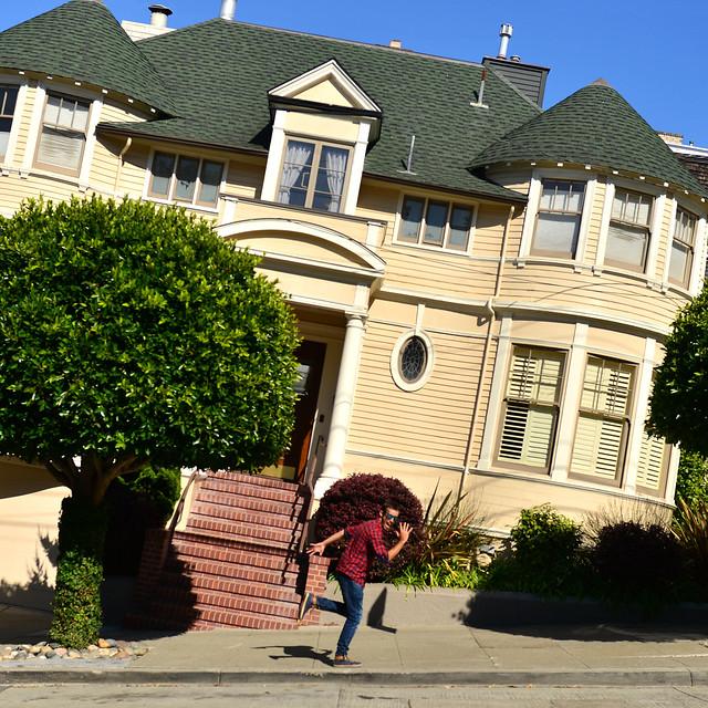 Casa de la señorita Doubtfire en San Francisco