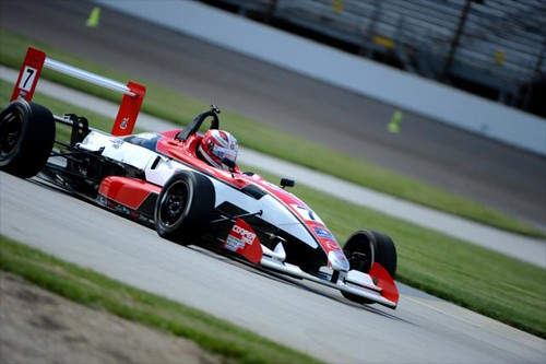 Luca Forgeois | by indianapolismotorspeedway.com
