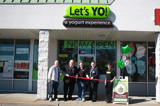 Let's YO !  Ribbon Cutting 10/11/12 | by Parsippany Area Chamber