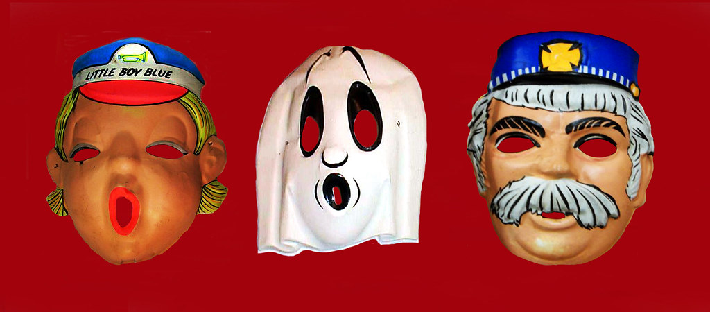 ... Captain Kangaroo and Ghost Masks 6443 | by Brechtbug & Captain Kangaroo and Ghost Masks 6443 | Halloween Masks Captu2026 | Flickr