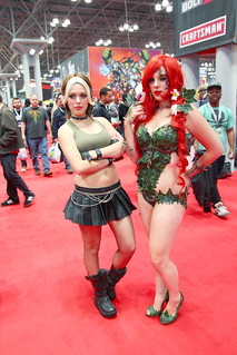 Rogue (Nadya Sonika) and Poison Ivy (Alexia-Jean-Grey) | by fe505