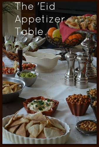 The Eid Appetizer Table | by myhalalkitchen3