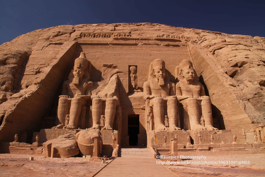 Abu Simbel, Great Temple of Ramses II | I could not decide ...