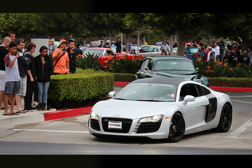 audi r8 v8 cars and coffee irvine california there is c flickr. Black Bedroom Furniture Sets. Home Design Ideas