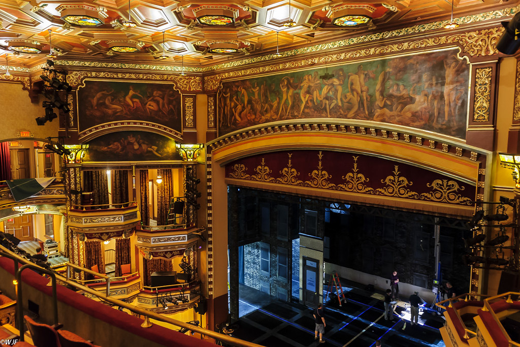 Balcony Pov Belasco Theatre Wallace Flickr