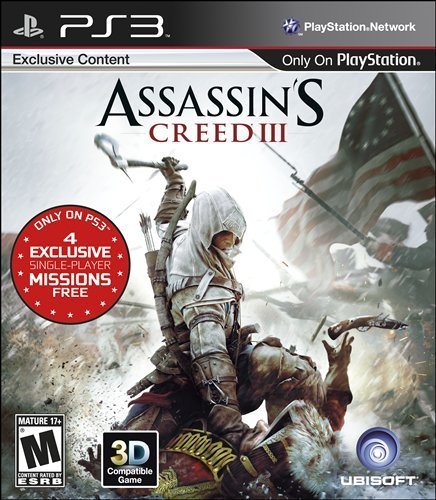 Assassin's Creed III for PS3 - box art | by PlayStation.Blog
