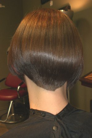 Beautiful Nape Bob In Salon Short Haircuts Women Flickr