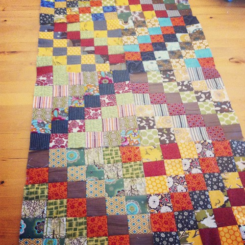 Scrappy Trip Along Quilt Blocks | by CoraQuilts~Carla