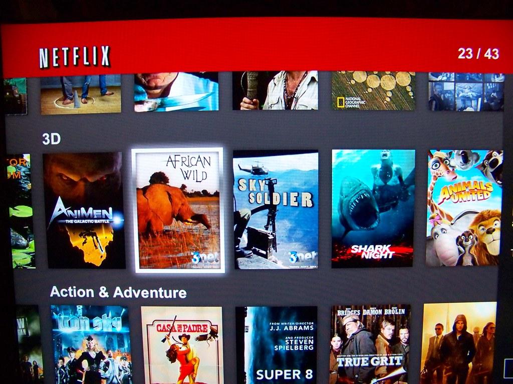 Netflixs First 3D Streaming Movies  Netflix This Week -4571