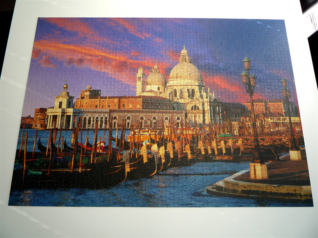 S.Marco-Venice Clementoni 4000 piece puzzle. | I purchased t… | Flickr
