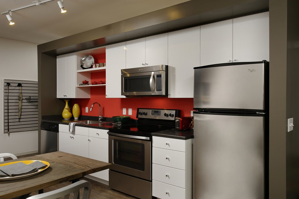 industrial style kitchens by ava h street - H Street Kitchen