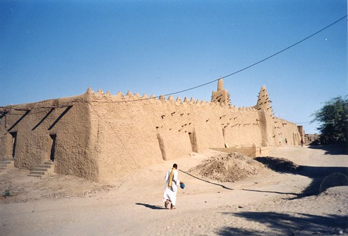 Mali - Timbuktu, the oldest of the two mosques | by Jeanne Menjoulet